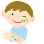 ハロウィンメイク子供篇!100均やシールで簡単かわいいやり方を紹介!