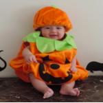 ハロウィン仮装の子供用!かぼちゃやおばけを手作り簡単に!